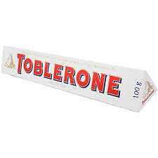 Ebay Deal Toblerone White Chocolate 100g X 2 Pcs (Limited Edition) Special Gift