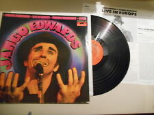 LP Rock Jango Edwards Friends RS - Live in Europe (9 Song) POLYDOR / + Insert