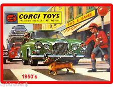 Corgi Toy Catalog 1950's Cover  Refrigerator / Tool Box /  Magnet