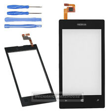 Black Touch Screen Digitizer Front Glass Lens for Nokia Lumia 520 N520 + Tools
