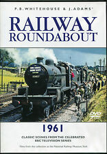 RAILWAY ROUNDABOUT 1961 TRAINS DVD - P.B. WHITEHOUSE & J. ADAMS