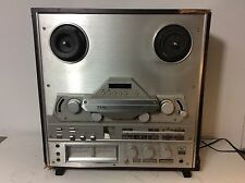 Teac X-2000R Stereo Reel To Reel Tape Player Recorder Deck For Parts Or Repair
