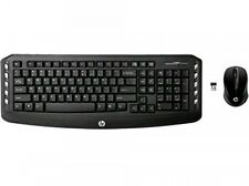 HP Wireless Classic Desktop Keyboard and Mouse Pointers Mice Computers  Black