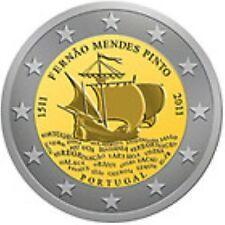 Portugal  2011  2 euro commemo  Mendez Pinto       UNC uit de rol !!!