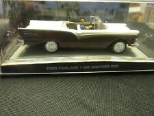 JAMES BOND CARS COLLECTION FORD FAIRLANE DIE ANOTHER DAY