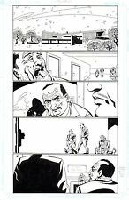 JOHN MCCREA  Original Art Page MONARCHY