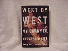 AWESOME Jerry West HC Book, West, My Charmed Tormented Life, Los Angeles Lakers!