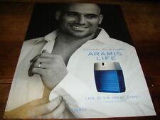 ANDRE AGASSI - Publicité de magazine PARFUM !!!!!!!!!!!!!