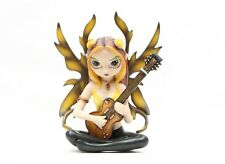 "4.5""H JASMINE BECKET-GRIFFITH GUITARIST STRANGELING FAIRY FIGURINE STATUE.LOVELY"