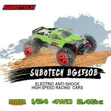 SUBOTECH CoCo-4WD BG1510B 2.4GHz 1/24 4 Wheel Drive Racing RC Off-road Car Green