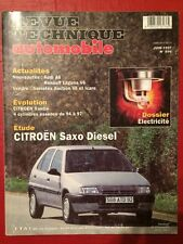 Revue Technique Automobile CITROEN Saxo Diesel