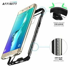 Poetic Affinity Premium Thin Bumper Case for Samsung Galaxy S6 Edge Plus Black