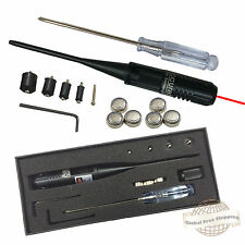 Bore Sighter Red Laser Bore Sight kit for 0.22 to 0.50 Caliber Rifles Handgun