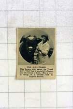 1919 Miss Starkey Has Wonderful Influence Over Fierce Bulls, Leighton Buzzard