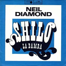 "7"" Neil Diamond – Shilo / La Bamba (Richie Valens) // Rare Germany 1968"