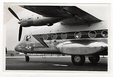 PHOTO ANCIENNE Vintage AVION AÉROPORT Transport Aile Hublot