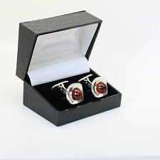 Danish silver cuff links made by Anni&Bent Knudsen