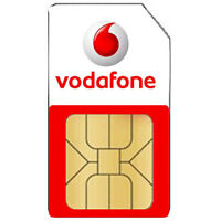 Vodafone UK Mobile Network SIM Card - Pay As You Go For Smartphones