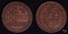 Karpov – Kortschnoi Meran - Medaille Relief 1981 Italien - Kupfer ca 27g 40mm