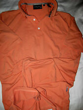 BOBBY JONES X-H20 CORAL MANGO SOFT GOLF POLO SHIRT-STRETCH NYLON SPANDEX-L