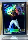 2009 ETOPPS IN HAND KYLE BLANKS TEXAS RANGERS PADRES ROOKIE CARD /699