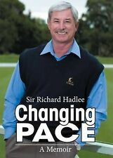 Changing Pace: A Memoir by Richard Hadlee (Paperback, 2009)CRICKET. SIGNED BOOK.