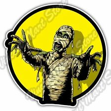 Comic Book Scary Angry Mummy Dead Car Bumper Window Vinyl Sticker Decal 4.6""