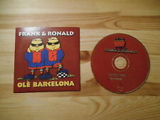 CD Schlager Frank & Ronald - Ole Barcelona (2 Song) DINO / BUNNY MUSIC