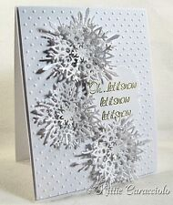 Impression Obsession SNOWFLAKES DIE SET DIE024-X Winter Holiday Christmas