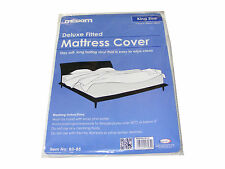 1 KING SIZE WATERPROOF VINYL MATTRESS PROTECTOR BED WETTING SHEET COVER KINGSIZE