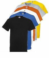 Fruit of the Loom Men's Heavy Value Weight  Cotton T Shirt  Pack of 5