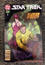 Star Trek #80 Illusion of Guilt Comic Book Autographed by Kevin J. Ryan Feb 1996