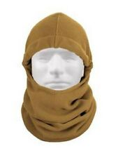 US OUTDOOR BALACLAVA LIGHTWEIGHT EXTRA LONG POLAR FLEECE ARMY USMC COYOTE