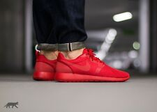 NIKE ROSHE HYPERFUSE Correr Zapatillas Zapatos Casuales ONE Gimnasio-UK 8 (UE 42.5) rojo