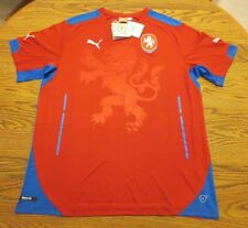 Puma Czech Republic 2014 Replica Away Jersey - White Size Large L or red M L $85