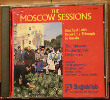 SHEFFIELD LAB CD 25: THE MOSCOW SESSIONS Volume 1 - OOP 1987 USA LIKE NEW