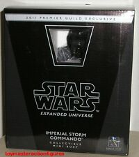 STAR WARS GENTLE GIANT 2011 IMPERIAL STORM COMMANDO PGM Exc MINI BUST In Stock