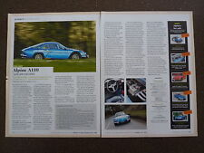 Alpine A110 (1962-78) - guide d'achat article
