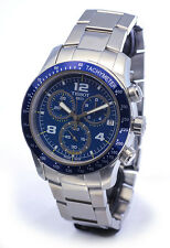 NEW MEN'S 100M TISSOT V8 CHRONOGRAPH SAPPHIRE ANALOG WATCH T039.417.11.047.02
