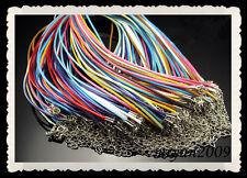 """FREE 10pcs Party Set Waxed Cord Thread Mixed ribbon Nylon necklace cord 19"""""""