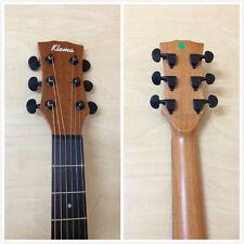 Klema K100DC Solid Cedar Top,D-Shape Acoustic Guitar,Natural Matt +Free Gig Bag