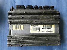 RENAULT CLIO CALCULATEUR MOTEUR ECU REF 7700864601 HOM7700864585 S101200047B