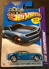 2013 Hot Wheels Camaro Special Edition CUSTOM with Real Riders