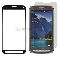 Black LCD Screen Glass Lens Replacement+Film Guard for Samsung Galaxy S5 Active