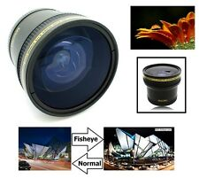 Super Hi Def 0.17x Fisheye Lens For Canon EOS Rebel T6 80D 70D