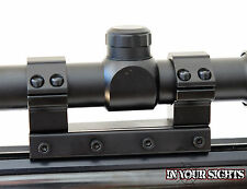 1 piece Rifle Scope Mount 1inch/25mm High Profile Sight Rings fit 11mm Dovetail