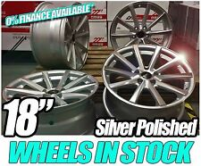 "18"" BMW STYLE Alloy Wheels CSL e92 Style Silver GENUINE ALUWERKS (Ask for tyres)"