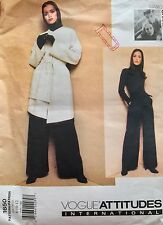 Mariot Chanet Vogue Sewing Pattern Coat & Pants Loose-Fitting1650 SZ 8-10-12