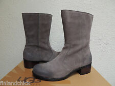 UGG LOU CHARCOAL GRAY SUEDE/ SHEEPSKIN BOOTS, WOMENS US 11/ EUR 42 ~NEW