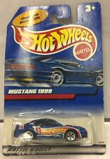 1998 HOT WHEELS LIMITED EDITION MEXICAN ISSUE  1999  MUSTANG -  BLUE RACING. NEW